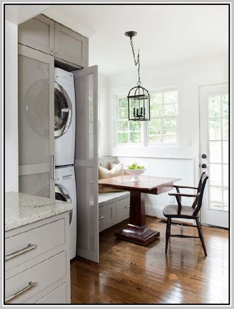 washer dryer cabinet home design ideas