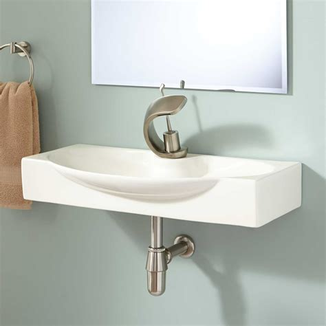 Halden Wallmount Bathroom Sink Bathroom
