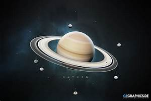 The Solar System Saturn · Artworks · GTGRAPHICS