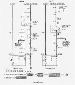 Need Wiring Diagram For 96 Montero Sr Starter Wires