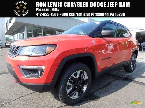 jeep compass trailhawk 2017 colors 2017 spitfire orange jeep compass trailhawk 4x4 121734928