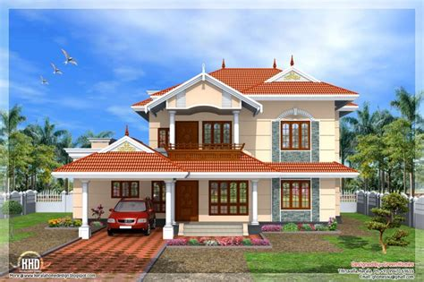 Beautiful New Style Home Plans In Kerala  New Home Plans