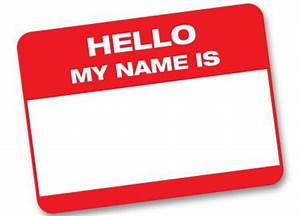 Name Badge Clipart