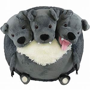 Squishable Cerberus. DEAR GOD IN HEAVEN SOMEBODY GIVE ME ...