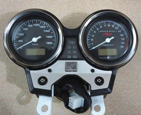 vtec iv motorcycle tachometer speedometer kilometer