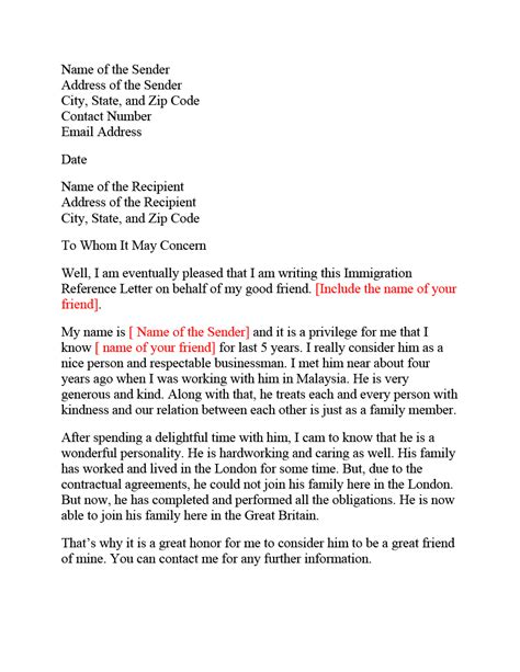 10 Character Reference Letter For Judge | Proposal Sample