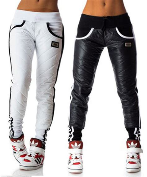 Pants joggers leather joggers streetwear winter outfits winter leggings winter pants ...