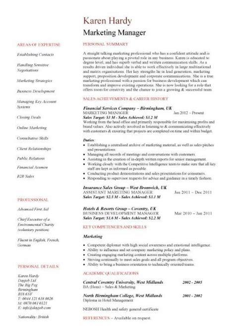 Fashion Marketing Resume Design Badak Shalomhouseus