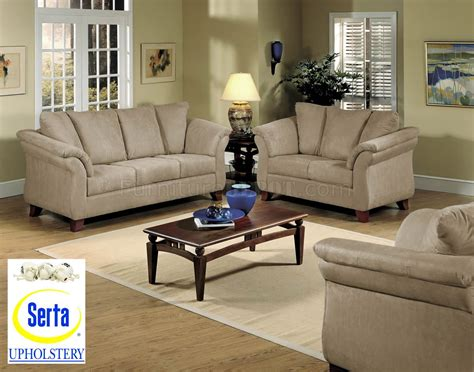 modern sofa and loveseat sets mocha microfiber contemporary sofa loveseat set