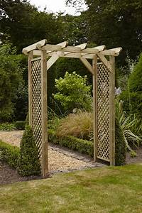 Anchor Fast Squared Lattice Arch - Simply Wood