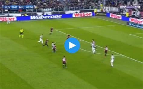 dybala goal video man utd target scores  juventus