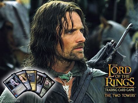 The Lord Of The Rings Viggo Mortensen Zbroja Karty