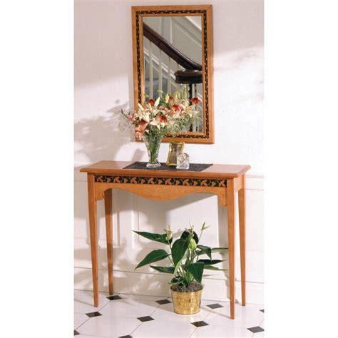 hall table mirror woodworking plan  wood magazine