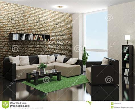 Gemutlich Le Wohnzimmer by Salon Minimaliste Photo Libre De Droits Image 36855525