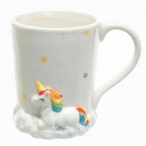 Mug Licorne Pas Cher : mug licorne arc en ciel sur son nuage mug tasse licorne ~ Teatrodelosmanantiales.com Idées de Décoration