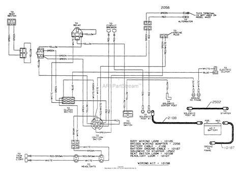 dixon ztr 4423 2002 parts diagram for wiring