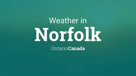 weather  norfolk ontario canada