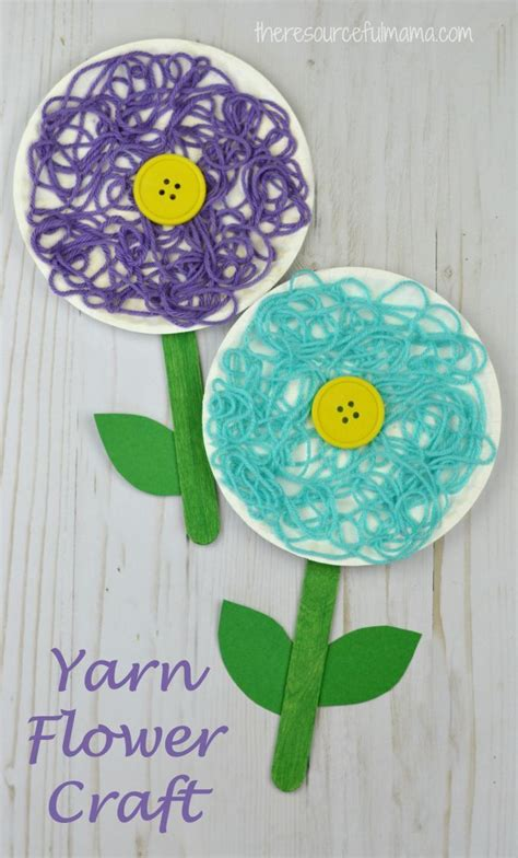best 25 flower crafts ideas on 536 | 97ec3c3b90f874c807c2c65ab194125f plants and flower crafts spring crafts for kids preschool flowers