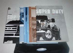 2009 Ford F Super Duty Owners Manual Set 09 F250 F350