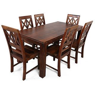 Buy Shop Sting Wooden Furniture Aria Solid Wood 6 Seater