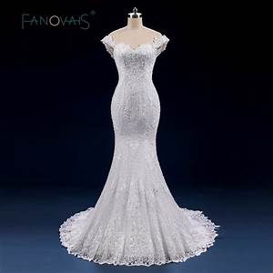 luxury full beads pearl wedding dress mermaid lace up off With pearl wedding dresses