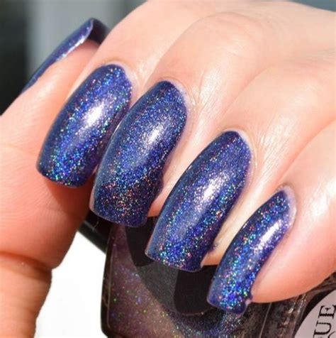 holographic nails reach   level  fall  beauty