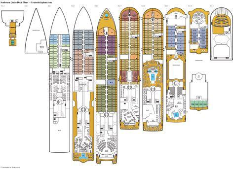 deck plans seabourn quest deck plans cabin diagrams pictures