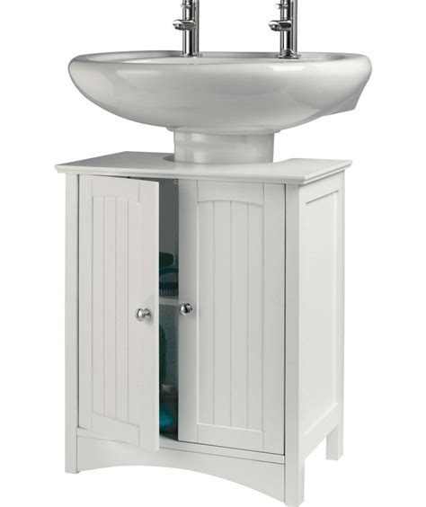 Buy Bathroom Sink Cabinets by Buy Tongue And Groove Sink Storage Unit White At