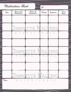 images   printable medication log sheets