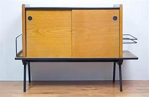Meuble Pour Vinyle : meuble range vinyles ann es 50 mes petites puces ~ Teatrodelosmanantiales.com Idées de Décoration