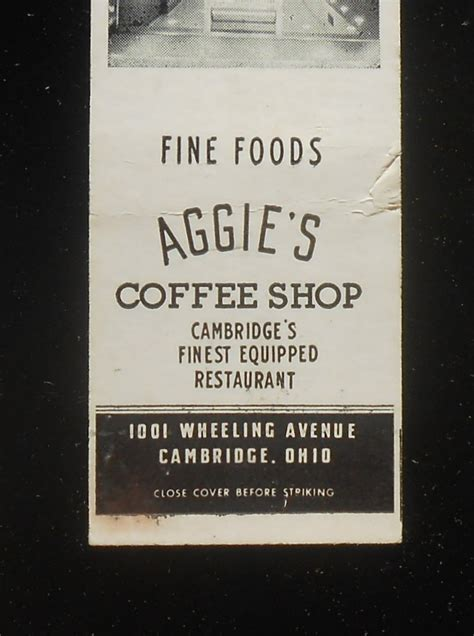 Best dining in cambridge, guernsey county: 1950s Aggie's Coffee Shop Restaurant Storefront Photo ...