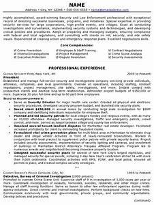 police resume examples resume template easy http www With federal law enforcement resume