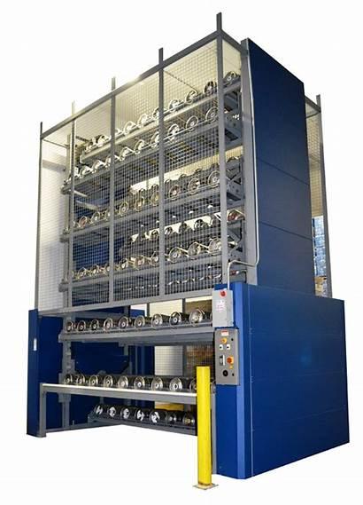 Storage Solutions Summit Vertical Custom Carousel Racking