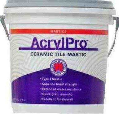 custom building products 4000 acrylic ceramic tile mastic