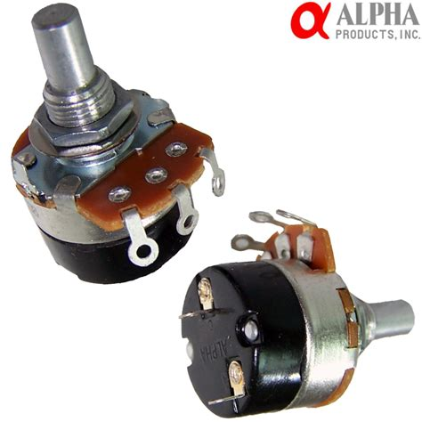 alpha mm solid shaft potentiometer  switch hifi collective