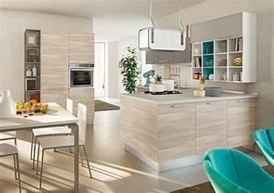 decoration cuisine victorienne With cuisine en bois clair