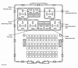 F621 2002 Ford Focus Wagon Fuse Box Diagram