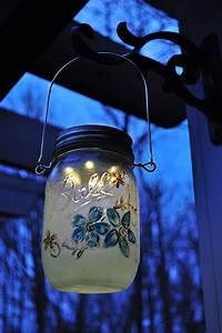 Mason, Jar, Lanterns, Diy