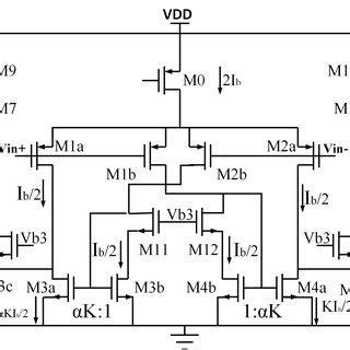 Block Diagram Instrumentation Amplifier