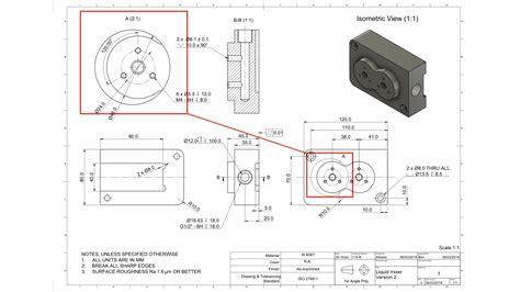 prepare  technical drawing  cnc machining  hubs