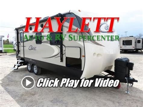 haylettrv  keystone cougar rbs king bed ultralite couples travel trailer youtube