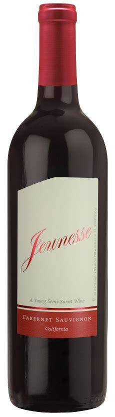 jeunesse  young semi sweet wine series