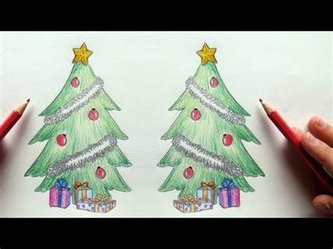tannenbaum zeichnen weihnachtsbaum zeichnen lernen youtube