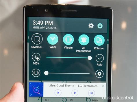 how to take a picture of your phone screen how to take a screenshot on the lg g4 android central