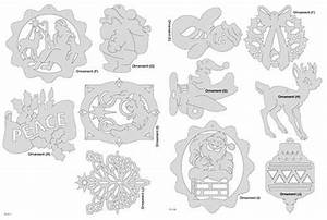 Downloadable Christmas Ornament Pattern Pack – Scrollsaw com