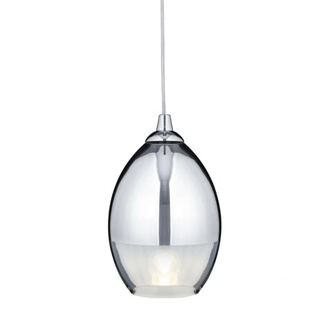 9681cc chrome glass pendant light