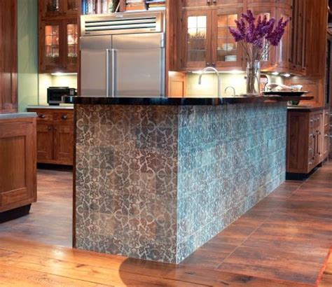 tile top kitchen island a tiled kitchen island cultivate island time 6186
