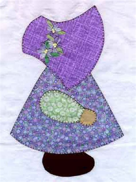 sunbonnet sue applique i applique although it looks intimidating practice