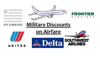 Military Discount Airline Tickets