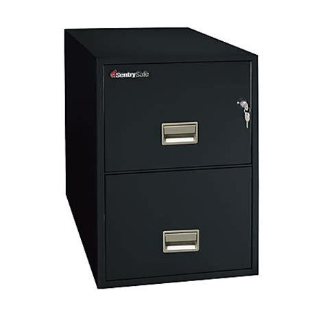 Safe File Cabinet 2 Drawer by Sentrysafe Safe 2 Drawer Vertical File Cabinet 27 12